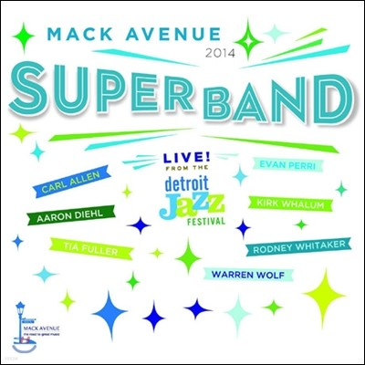 Mack Avenue Superband (맥 애버뉴 슈퍼밴드) - Live from the Detroit Jazz Festival 2014