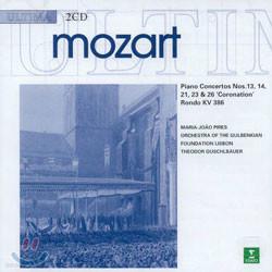 Mozart : Piano Concerto No.13, 14, 21, 23 & 26