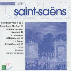 Saint-Saens : Symphony 1 & 2ㆍPiano Concerto 4 : Pretre