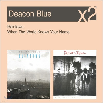 [YES24 단독] Deacon Blue - Raintown + When The World Knows Your Name (New Disc Box Sliders Series)