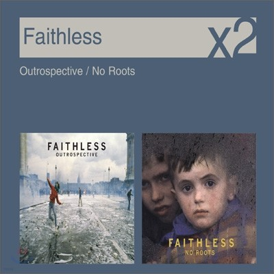 [YES24 단독] Faithless - Outrospective + No Roots (New Disc Box Sliders Series)