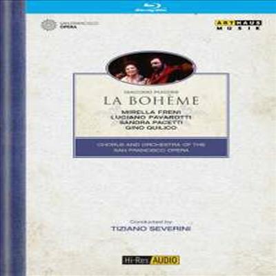 푸치니: 오페라 '라보엠' (Puccini: Opera 'La Boheme') (Hi-Res Audio)(Blu-ray) (2016) - Tiziano Severini