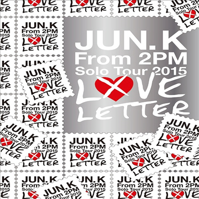 준케이 (Jun. K) - Jun. K Solo Tour 2015 Love Letter In Makuhari Messe (지역코드2)(2DVD+Live Photobook)