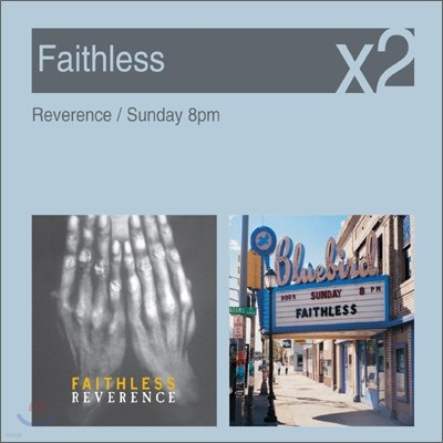 [YES24 단독] Faithless - Reverence + Sunday 8pm (New Disc Box Sliders Series)