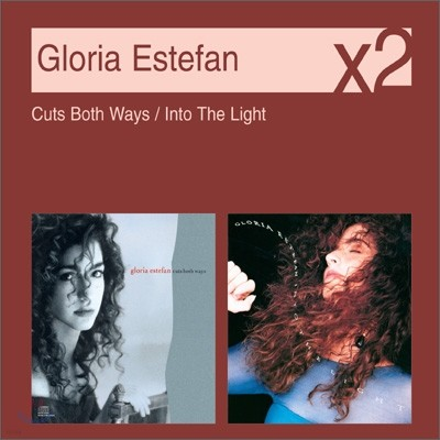 [YES24 단독] Gloria Estefan - Cuts Both Ways + Into The Light (New Disc Box Sliders Series)