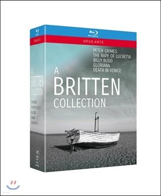 브리튼 컬렉션 [오페라] - 피터 그라임스, 루크레티아의 능욕, 빌리 버드, 베니스에서의 죽음 외 (A Britten Collection - Peter Grimes, Rape of Lucretia, Billy Bird, Death in Venice)