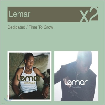 [YES24 단독] Lemar - Dedicated + Time To Grow (New Disc Box Sliders Series)