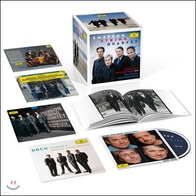 Emerson String Quartet 에머슨 현악 사중주단 40주년 기념 DG 전집 (Complete Recordings on Deutsche Grammophon)