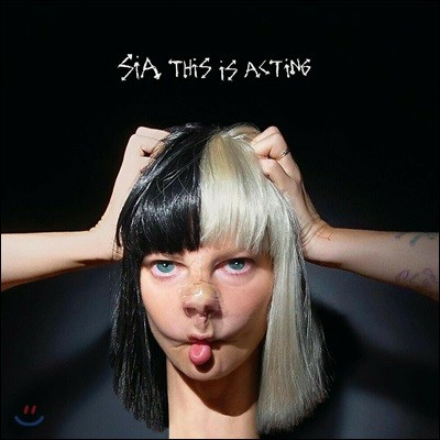 Sia (시아) - This Is Acting [화이트 컬러 & 블랙 컬러 2LP]