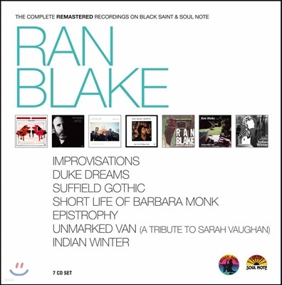 Ran Blake (랜 블레이크) - Ran Blake (Deluxe Edition Box)
