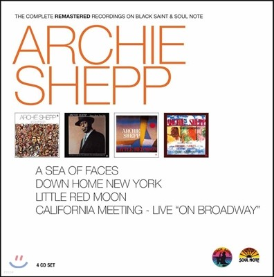 Archie Shepp (아치 셰프) - The Complete Remastered Recordings on Blak Saint & Soul Note