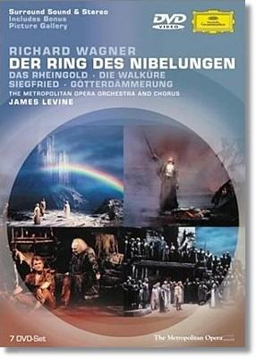 James Levine 바그너: 니벨룽겐의 반지 디럭스 전집 - 제임스 레바인 (Wagner: Der Ring Des Nibelungen)