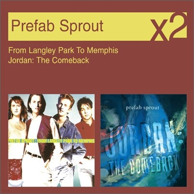 [YES24 단독] Prefab Sprout - Langley Park + Jordan The Comeback (New Disc Box Sliders Series)