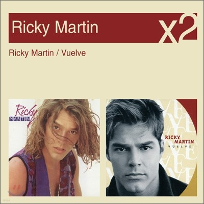 [YES24 단독] Ricky Martin - Ricky Martin + Vuelve (New Disc Box Sliders Series)