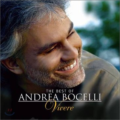Andrea Bocelli 안드레아 보첼리 베스트 (Vivere - The Best Of) CD+DVD