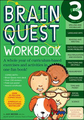 Brain Quest Workbook : Grade 3, Ages 8-9