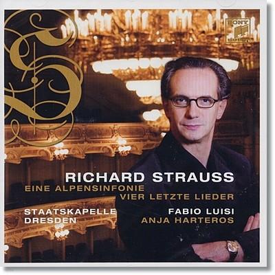 R.슈트라우스 : 알프스 교향곡 Op. 64 - 파비오 루이지 (SACD)