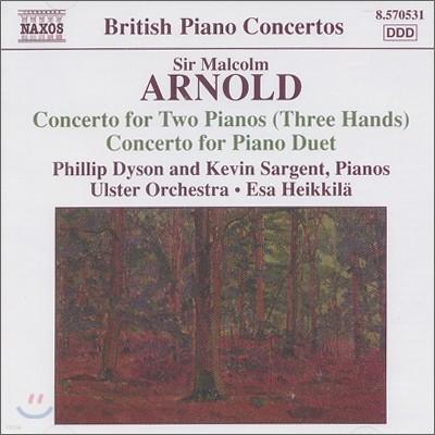 아놀드 : 2대의 피아노를 위한 협주곡 외