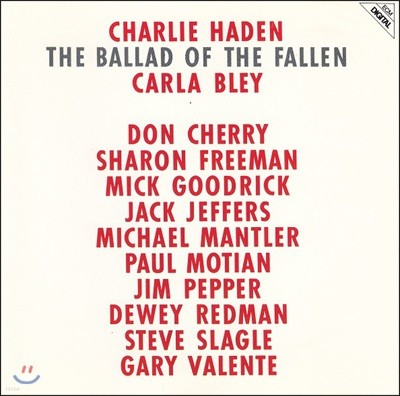 Charlie Haden (찰리 헤이든) - The Ballad Of The Fallen