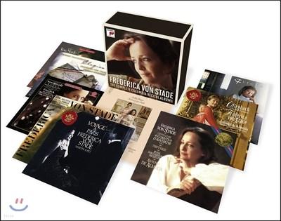 프레데리카 폰 슈타데 - 콜럼비아 리사이틀 앨범 전집 (Frederica von Stade - The Complete Columbia Recital Albums)