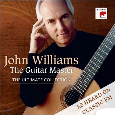 John Williams 존 윌리엄스 얼티메이트 컬렉션 - 기타 마스터 (The Guitar Master: Rodrigo / Tarrega / Vivaldi / J.S. Bach / Barrios / Albeniz / Granados)