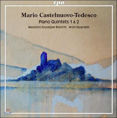 Aron Quartett 카스텔누오보-테데스코: 피아노 오중주 1번, 2번 (Mario Castelnuovo-Tedesco: Piano Quintets) 마시모 주세페 비앙키, 아론 사중주단