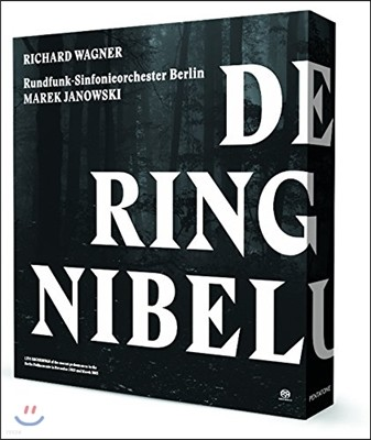 Marek Janowski 바그너: 니벨룽의 반지 전곡 (Wagner: Der Ring des Nibelungen) 베를린 방송 교향악단과 합창단, 마렉 야노프스키