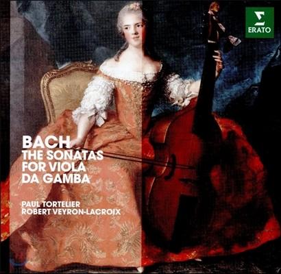 Paul Tortelier 바흐: 비올라 다 감바 소나타 BWV1027, 1028, 1029 [첼로, 하프시코드 연주반] (J.S. Bach: The Sonatas for Viola da Gamba [for Cello]) 폴 토르틀리에