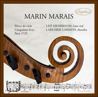 Leif Henrikson 마랭 마레: 비올 작품집 제5권 [발췌, 비올 & 테오르보 연주반] (Marin Marais: Suites from Pieces de Viole) 레이프 헨릭슨