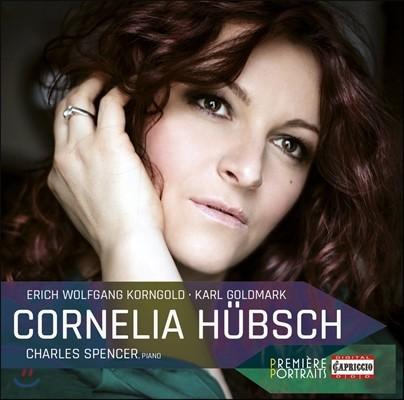 Cornelia Hubsch 코르넬리아 휩슈가 부르는 코른골트 / 골드마르크 가곡들 (Cornelia Hubsch sings Korngold / Goldmark)