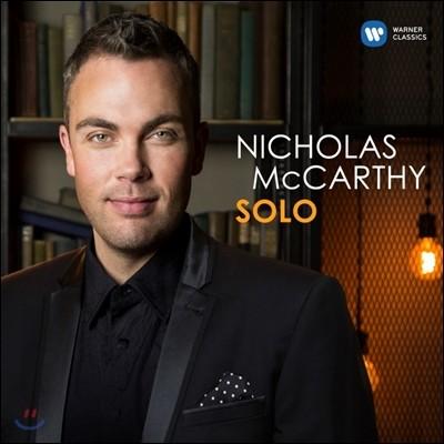 Nicholas McCarthy 니콜라스 맥카시 - 솔로 [왼손을 위한 피아노 편곡 작품집] (Solo)