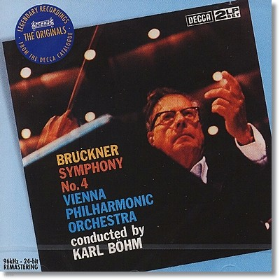 Karl Bohm 브루크너: 교향곡 4번 `낭만적` (Bruckner: Symphony No.4 Romantic) 칼 뵘