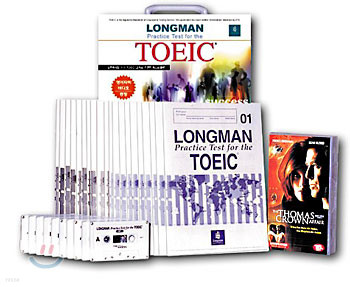 Longman Practice Test For The TOEIC 세트 : 영어 자막 비디오 증정