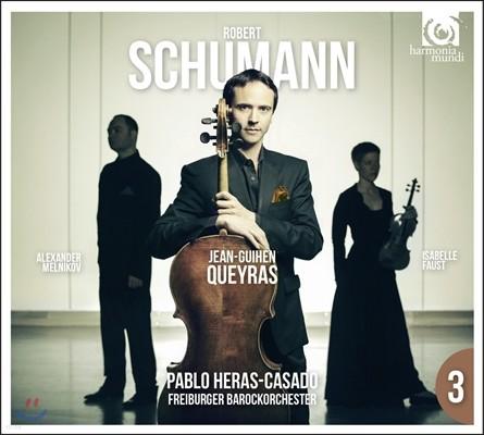Jean-Guihen Queyras 슈만: 첼로 협주곡, 피아노 삼중주 1번 (Schumann: Cello Concerto Op.129, Piano Trio Op.63) 장-기엔 케라스, 이자벨 파우스트, 알렉산더 멜니코프