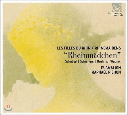 Pygmalion / Raphael Pichon 라인 강의 소녀 - 모르페우스의 딸들, 인어, 세레나데: 슈베르트 / 슈만 / 브람스 / 바그너 (Rheinmadchen - Schubert / Schumann / Brahms / Wagner) 피그말리온, 라파엘 피숑