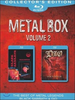 Dio / Black Sabbath (디오, 블랙 사바스) - Metal Box Vol 2