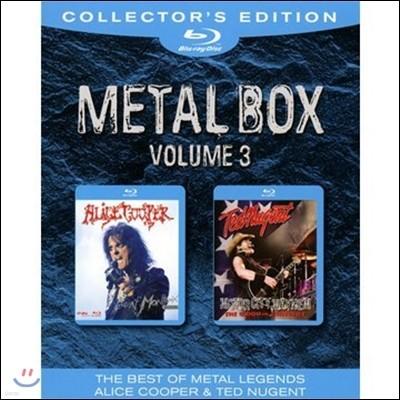 Alice Cooper/Ted Nugent (엘리스 쿠퍼, 테드 뉴전트) - Metal Box Vol 3