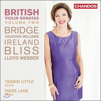 Tasmin Little 영국 바이올린 소나타 2집 - 브릿지 / 본 윌리엄스 / 블리스 / 존 아일랜드 (British Violin Sonatas, Vol.2 - Bridge / John Ireland / Bliss / Vaughan Williams) 타스민 리틀, 피어스 레인