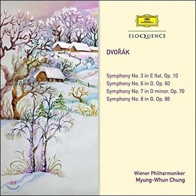 정명훈 / Wiener Philharmoniker 드보르작: 교향곡 3, 6, 7, 8번 (Dvorak: Symphonies Opp.10, 60, 70, 88)