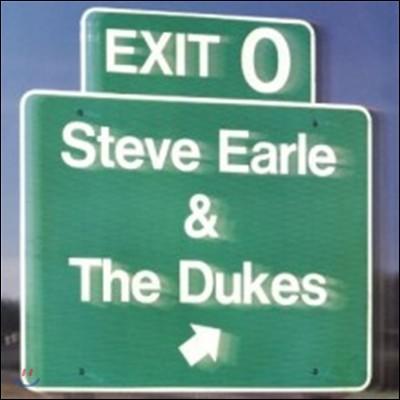 Steve Earle & The Dukes (스티브 얼 & 더 듀크스) - Exit 0 [60th Vinyl Anniversary Back To Black LP]