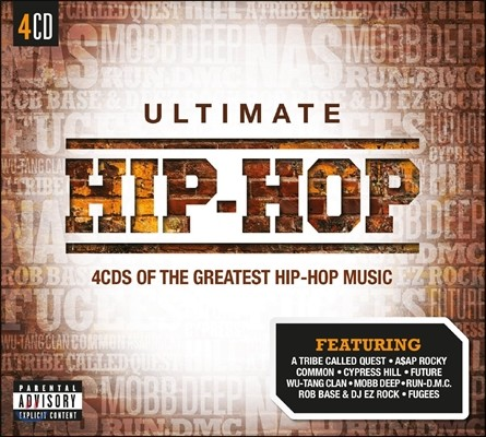 힙합 명곡 모음집 (Ultimate Hip-Hop : 4CDs Of The Greatest Hip:Hop Music)