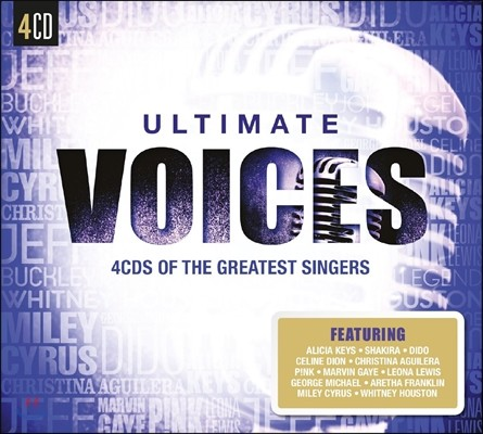 Ultimate Voices : 4CDs Of The Greatest Singers!