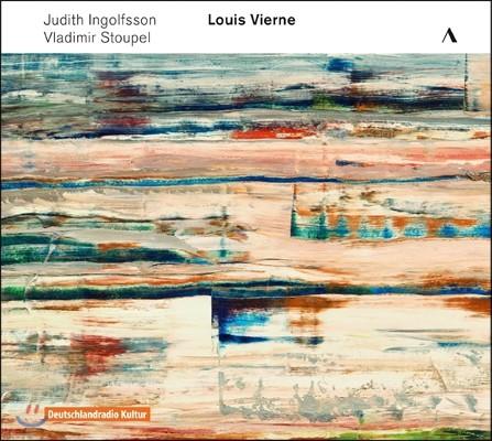 Judith Ingolfsson 1차 세계대전 100주년 콘서트 2집 - 루이 비에른: 바이올린 소나타, 피아노 오중주 (Concert-Centenaire Vol. 2 - Louis Vierne) 유디트 잉골프손