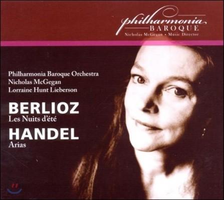 Lorraine Hunt Lieberson 베를리오즈: 여름 밤 / 헨델: 아리아 (Berlioz: Les Nuits d'Ete / Handel: Arias) 로레인 헌트 리버슨