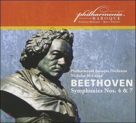Nicholas McGegan 베토벤: 교향곡 4번, 7번 (Beethoven: Symphonies Op.60, Op.92) 니콜라스 맥기건