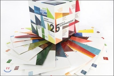 베를린 필하모닉 유로파 콘체르트 시리즈 25주년 기념 25 DVD 박스 세트 (Berliner Philharmoniker Europakonzert 25 Anniversary Box 1991-2015)