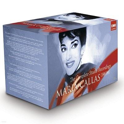 마리아 칼라스 EMI 스튜디오 레코딩 전집 (한정 보급판, 70CD, + 칼라스 티셔츠 증정)