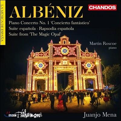 Juanjo Mena 알베니즈: 관현악 작품 - 피아노 협주곡 1번, 스페인 모음곡, 마법의 오팔 (Isaac Albeniz: Piano Conceto 'Concierto Fantastico', Suite Espanola, The Magic Opal) 후안호 메나