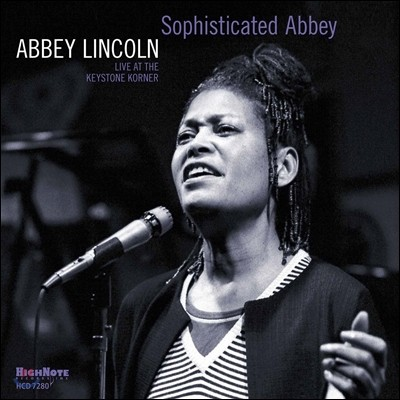 Abbey Lincoln (애비 링컨) - Sophisticated Abbey : Live At The Keystone Corner