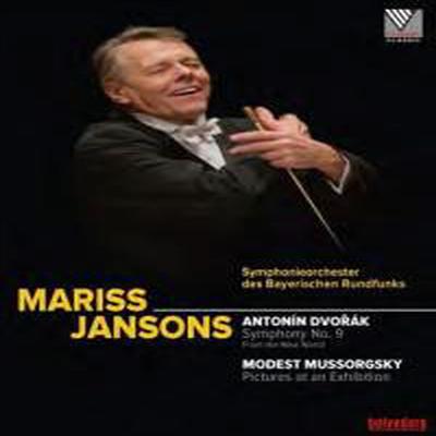 드보르작: 교향곡 9번 '신세계로부터' & 무소르그스키: 전람회의 그림 (Dvorak: Symphony No.9 'From the New World' & Mussorgsky: Pictures at an Exhibition) (Blu-ray)(2016) - Mariss Jansons